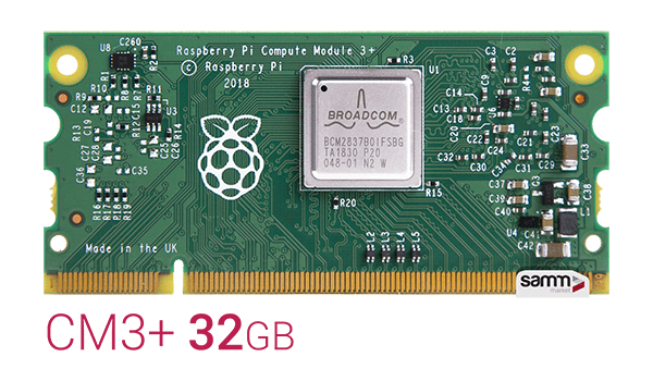 Raspberry Pi Compute Module 3 Plus - 32GB