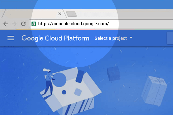Google Voice Kit, Cloud API Platform a Bağlamak 1b