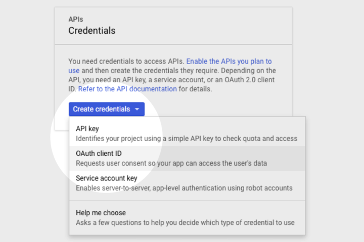 Google Voice Kit, Cloud API Platform a Bağlamak 8