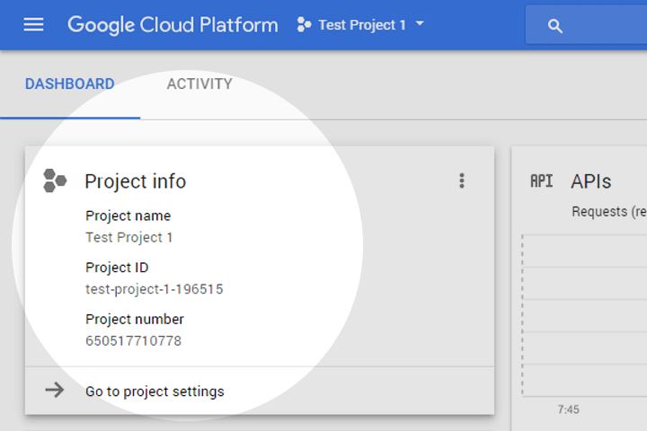 Google Voice Kit, Cloud API Platform a Bağlamak 5