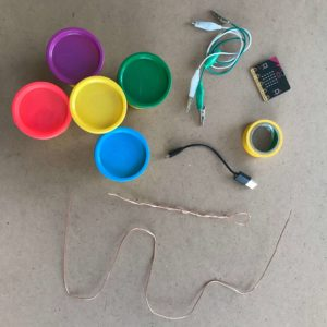 micro:bit yüzük oyunu