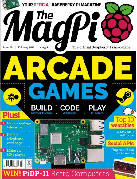 MagPi Raspberry Pi Magazine