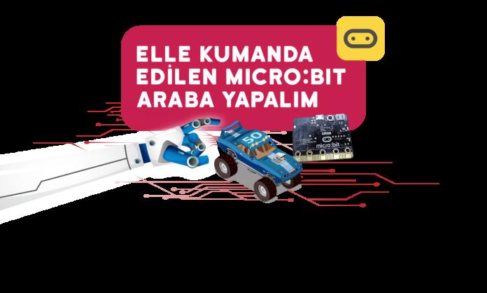 Elle Kumanda Edilen Microbit Araba