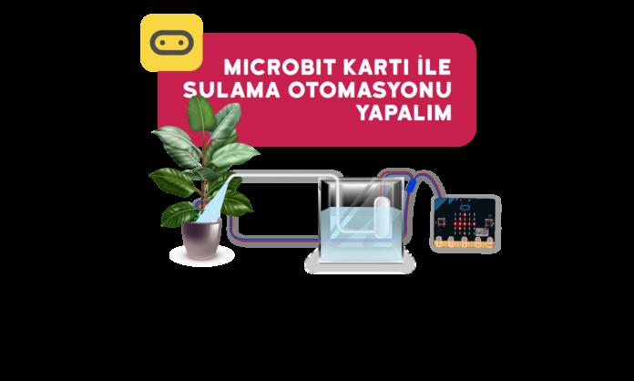 microbit ile sulama otomasyonu